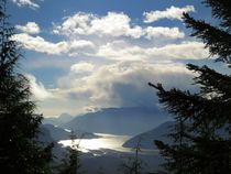 Overlooking Howe Sound Squamish British Columbia