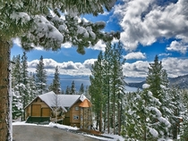 Overlooking Lake Tahoe Nevada  by unknown