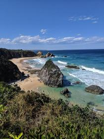 Overlooking the back of Horse Head Rock Australia