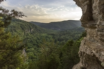 Overlooking the Buffalo National River