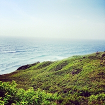 Overlooking the vast ocean Aquinnah Marthas Vineyard Photo taken by me