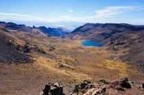 Overlooking Wildhorse Lake from near the summit of Steens Mt OR