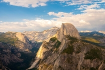 Overlooking Yosemite national park CA  by Ben Karpinski