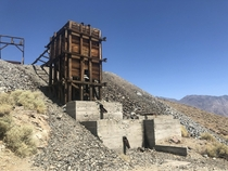 Owens Mine in the Alabama hills near Lone Pine CA