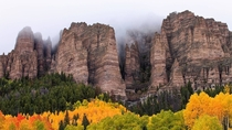 Owl Creek Pass Colorado  by Stuart Gordon