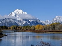 Oxbow bend Grand Teton National Park WY