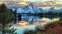 Oxbow Bend Grand Teton National Park Wyoming  by Jeff Clow