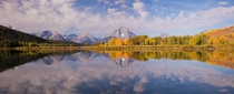 Oxbow Bend in Wyoming