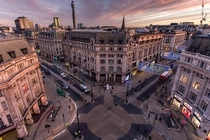 Oxford Circus London December  Image - Wayne Howes