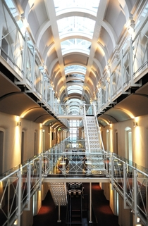Oxford Malmaison Hotel - from castle to prison to hotel by ADP LLP