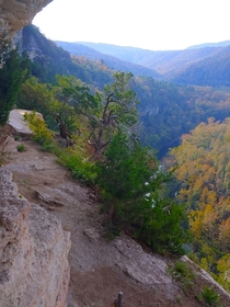 Ozarks looking stunning around the Buffalo National River Arkansas
