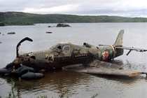 P-Q as it was recovered from a Russian lake