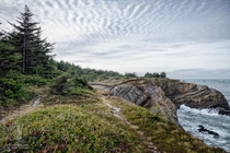 Pacific Coast Trail Shore Acres Cape Arago Oregon