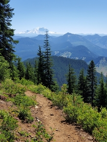 Pacific Crest Trail near Snoqualmie Pass WA US
