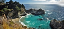 Pacific Ocean at Julie Pfeiffer Burns State Park Monterey County California by Wordydave