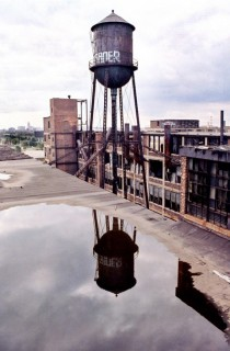 Packard Plant Water Tower Detroit MI