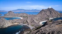 Padar Island Komodo National Park Indonesia