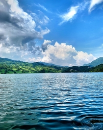 Paddling Away to Paradise - Begnas Lake Pokhara Nepal