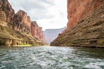 Paddling Down the Grand Canyon