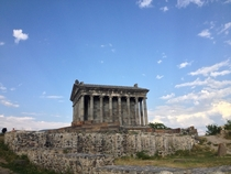 Pagan Temple in Garni Armenia