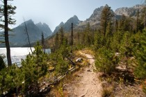 Paintbrush Divide trail Grand Teton National Park OC