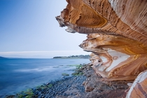 Painted Cliffs in Tasmania Australia