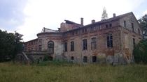 Palace build in second half of th century in Wena Poland