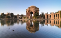 Palace of Fine Arts San Francisco California -