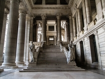 Palace of Justice Brussels Belgium  x