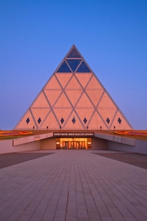 Palace of Peace and Reconciliation in Nur-Sultan Kazakhstan