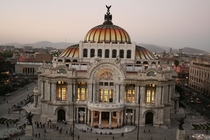 Palacio de Bellas ArtesPalace of the Arts in Mexico City Adamo Boari