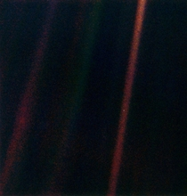 Pale blue dot taken by voyeger  I love this photo