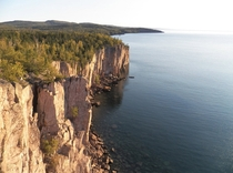 Palisade Head Cliffs and Shovel Point Minnesota