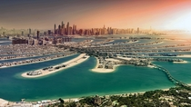 Palm Island Dubai nearing completion