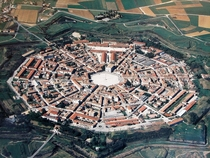 Palmanova Italy A Renaissance fortress town dating back to