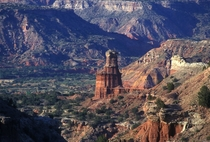 Palo Duro Canyon Light House Rock Texas Panhandle nd largest Canyon in USA