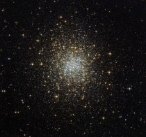 Palomar  is part of a group of  globulars known as the Palomar clusters This particular cluster is unique in more than one way For one it is the only globular cluster that we see in this part of the sky the northern constellation of Auriga The Charioteer