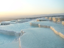 Pamukkale Hierapolis Travertine Pools of Turkey