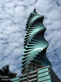 Panama City spiral building