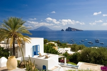 Panarea a small island off the coast of Sicily