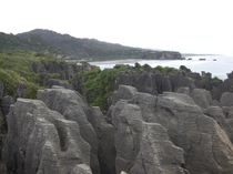 Pancake Rocks - Punakaiki New Zealand