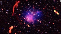 Pandoras Cluster is what became of  smaller galaxy clusters smashing into each other eons ago