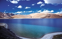 Pangong Lake Ladakh India  rIncredibleIndia