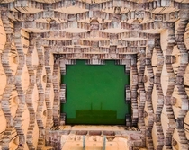 Panna Meena ka Kund Jaipur IN - Look at the Symmetry and the fact that this Stepwell was built  years ago