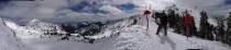 Panorama at Snowbird SLC Utah