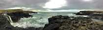 Panorama at the North Coast Northern Ireland