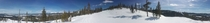 Panorama from Winter Park Ski Resort Colorado