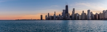 Panorama - Hancock and Navy Pier Chicago  - feedback welcome