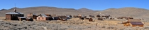 Panorama of a Gold Rush Ghost Town - Bodie CA
