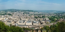 Panorama of Bath England